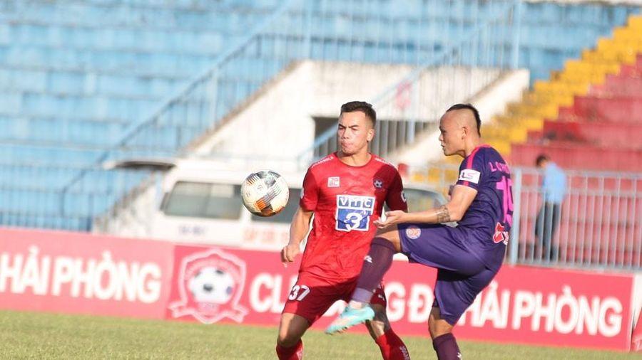 Hải Phòng dùng 3 cầu thủ Việt kiều trong trận đấu ở vòng 8 V-League 2020