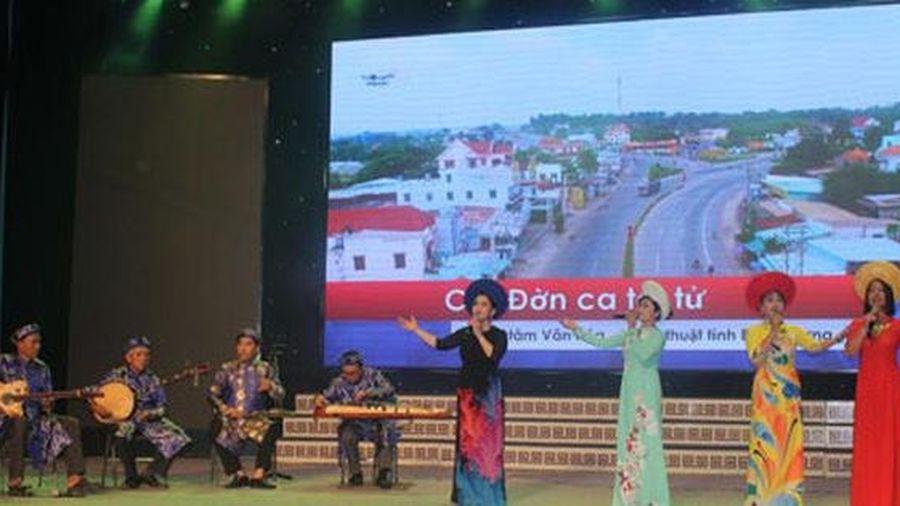 Bình Dương Xét tặng danh hiệu 'Nghệ nhân nhân dân', 'Nghệ nhân ưu tú' trong lĩnh vực Di sản văn hóa phi vật thể lần thứ III