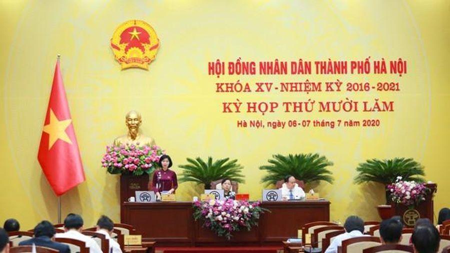HĐND TP Hà Nội thông qua 12 Nghị quyết nhằm phát triển kinh tế, an sinh xã hội