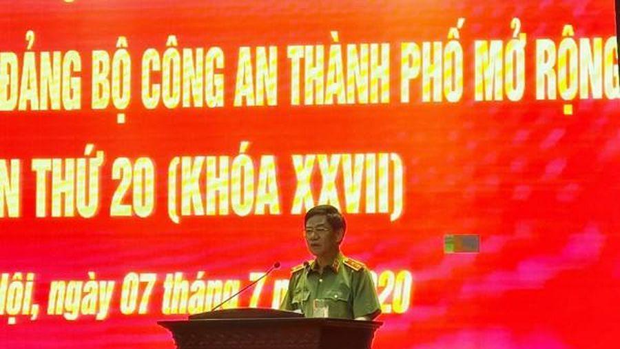 Đảng bộ Công an Thủ đô: Nêu cao tinh thần chủ động, đoàn kết, kỷ cương, trách nhiệm