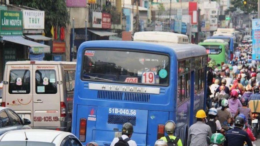 TP.HCM chi gần 400.000 tỉ đồng phát triển giao thông công cộng