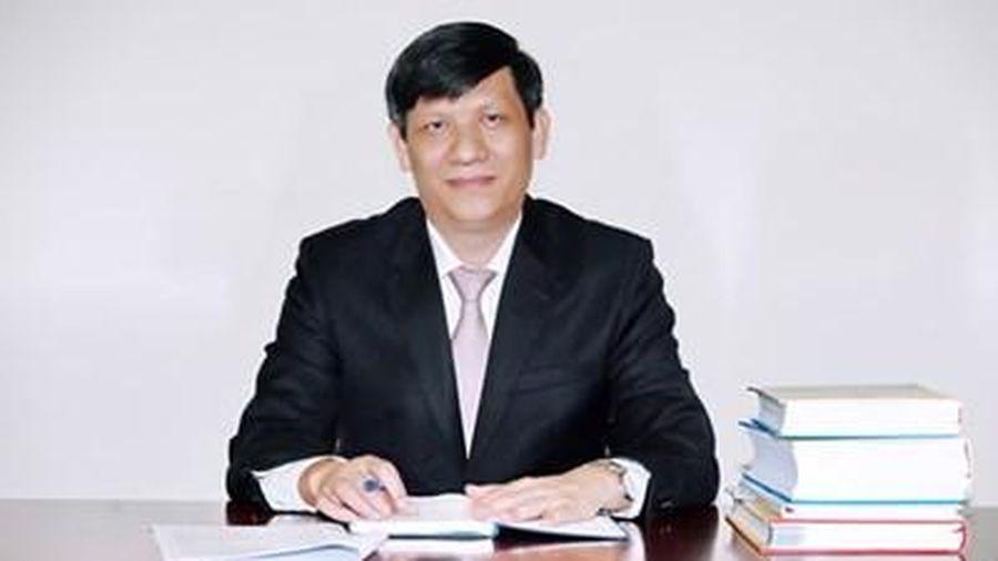 Đồng chí Nguyễn Thanh Long giữ chức Quyền Bộ trưởng Bộ Y tế