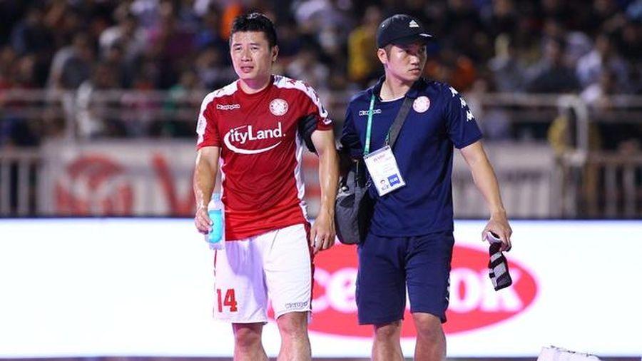 HLV Hàn Quốc bớt lo về chấn thương của đội trưởng CLB TP.HCM