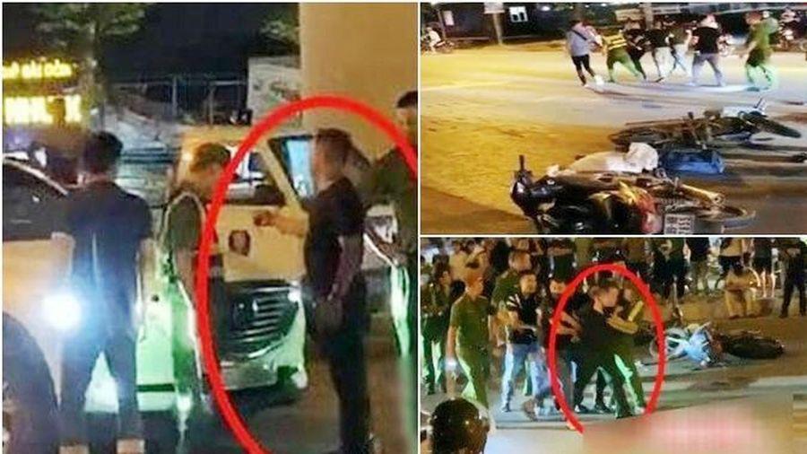 Khống chế tài xế Mazda CX5 đi vào hiện trường tai nạn, chống đối cảnh sát