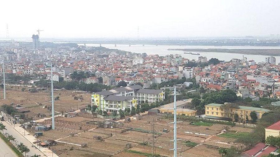 Hà Nội: Tập trung đầu tư xây dựng cơ sở hạ tầng để 5 huyện thành quận