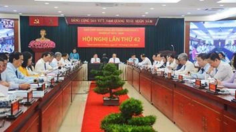 Thành ủy Thành phố Hồ Chí Minh khai mạc hội nghị lần thứ 42