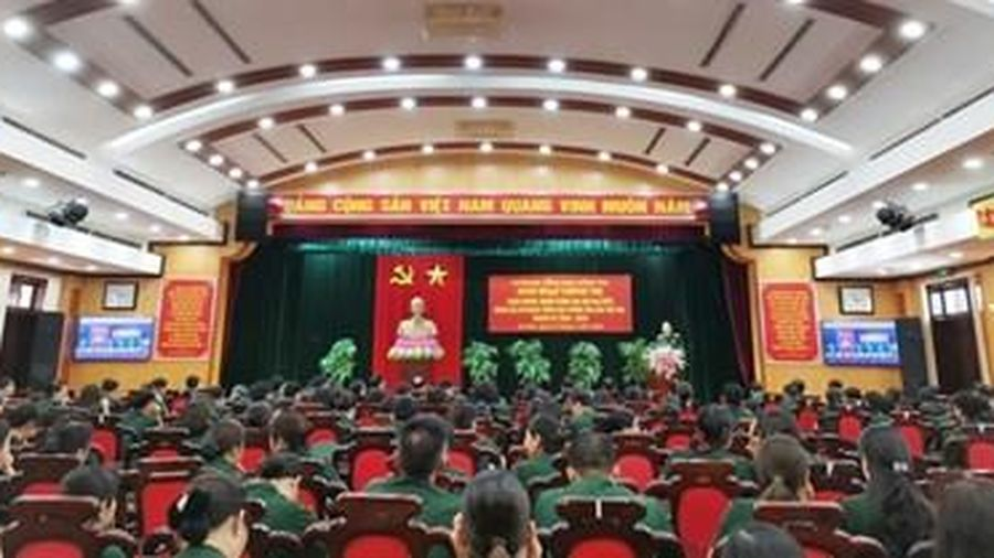 Sinh hoạt chính trị chào mừng thành công Đại hội đại biểu Đảng bộ Cơ quan Tổng cục Chính trị lần thứ XIX