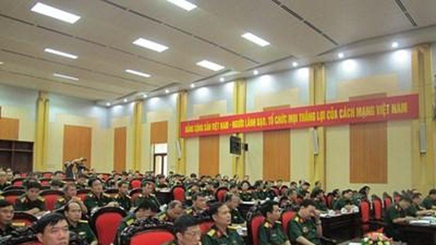 Binh chủng Pháo binh tổ chức Hội nghị quân chính 6 tháng đầu năm 2020