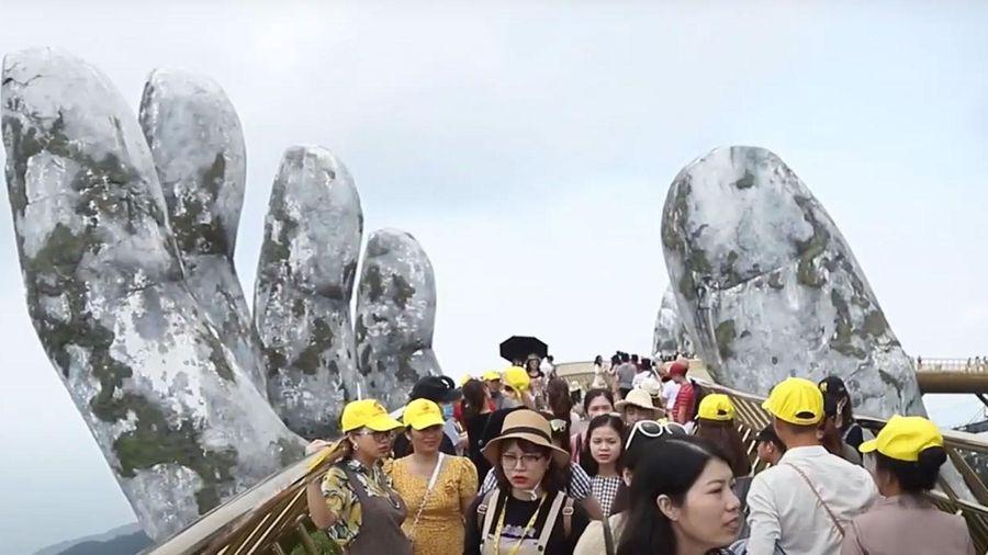 Trở lại Bà Nà Hills, du khách nói gì về xứ sở Cầu Vàng sau mùa dịch?
