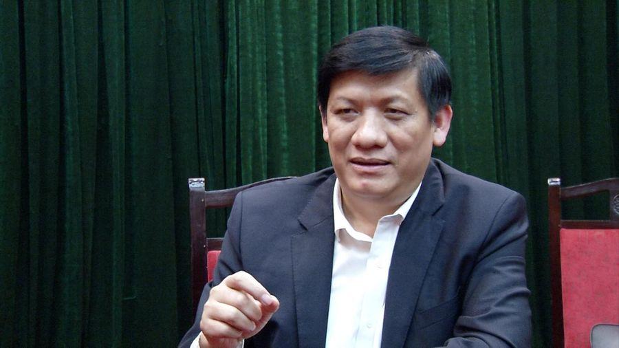 Thủ tướng giao quyền Bộ trưởng Bộ Y tế đối với ông Nguyễn Thanh Long