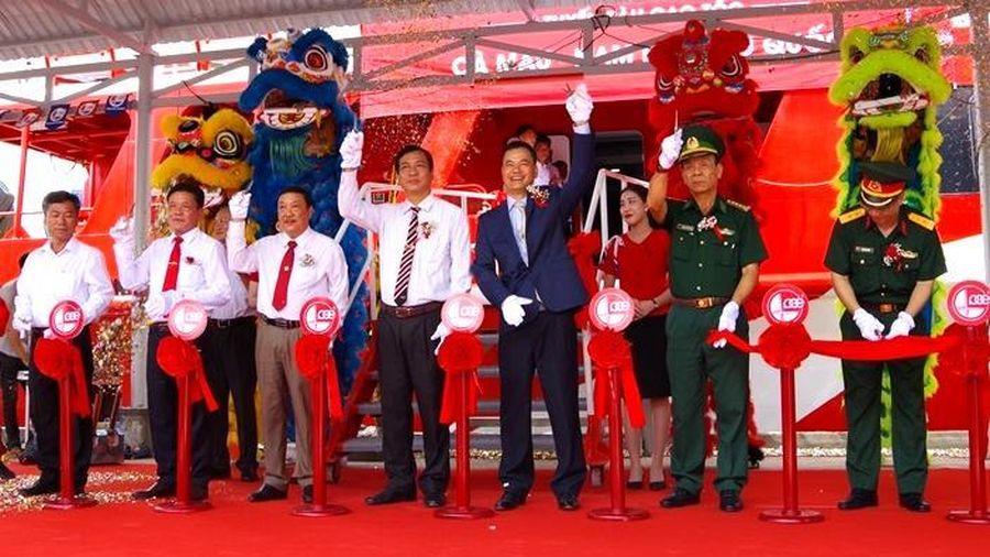 Khai trương tuyến tàu cao tốc Cà Mau - Nam Du - Phú Quốc