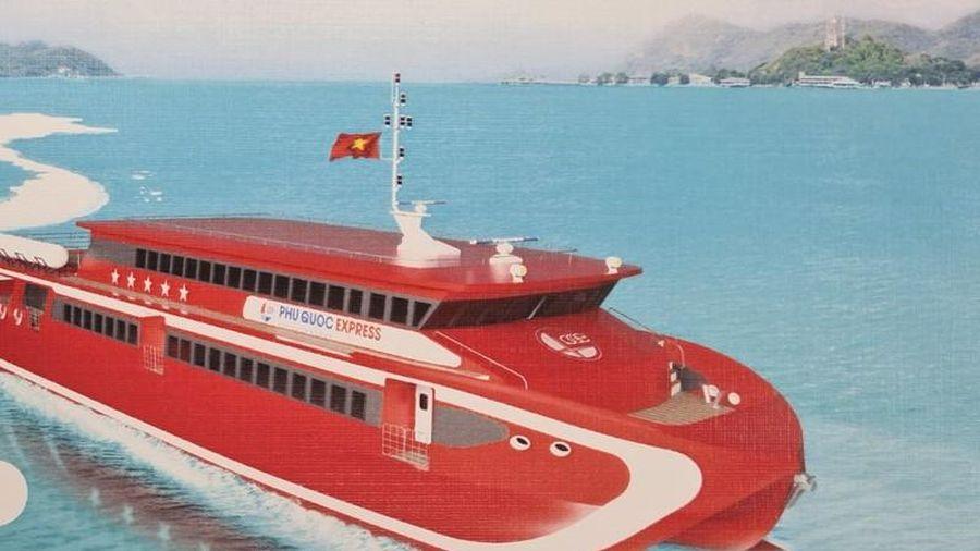 Cà Mau vận hành tuyến tàu cao tốc du lịch biển đầu tiên
