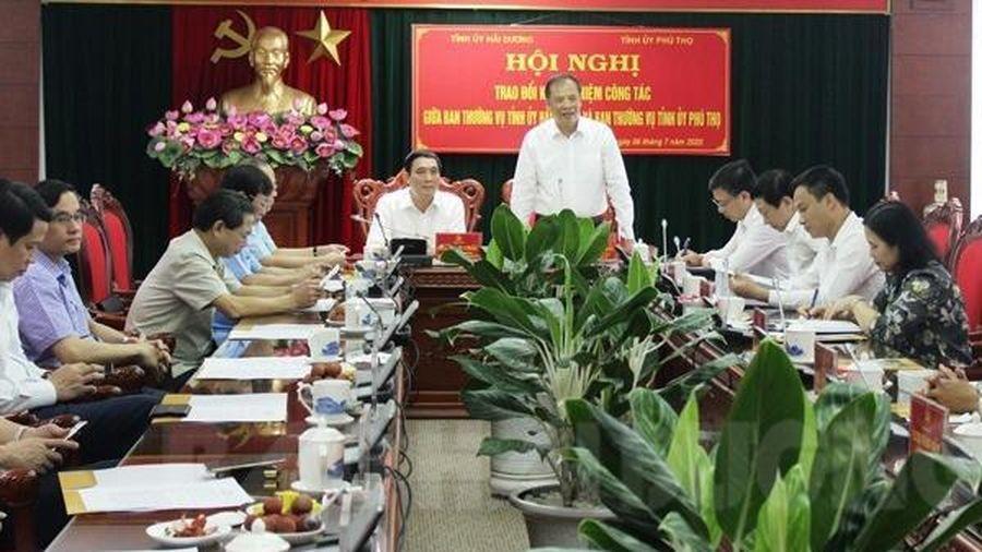 Hải Dương - Phú Thọ tăng cường hợp tác, phát triển