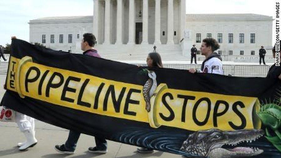 Hai 'gã khổng lồ' năng lượng Mỹ hủy bỏ dự án đường ống dẫn khí gây tranh cãi