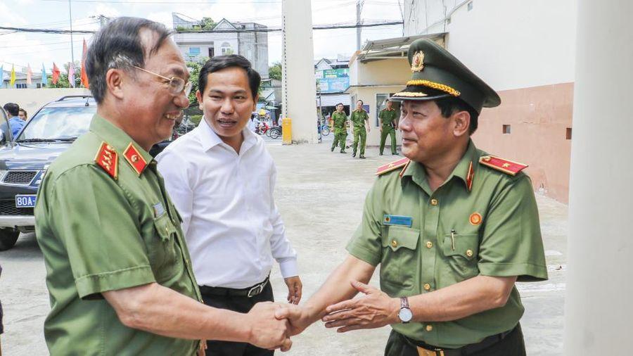 Thứ trưởng Bộ Công an kiểm tra công tác PCCC tại Công ty Kwong Lung – Meko