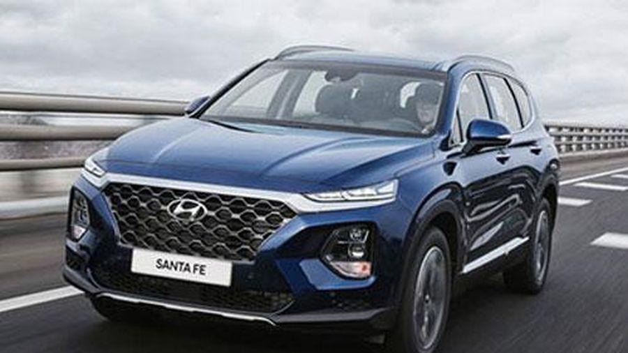 Giá lăn bánh SUV 7 chỗ Hyundai Santa Fe mới nhất, kèm ưu đãi giảm 50% lệ phí trước bạ