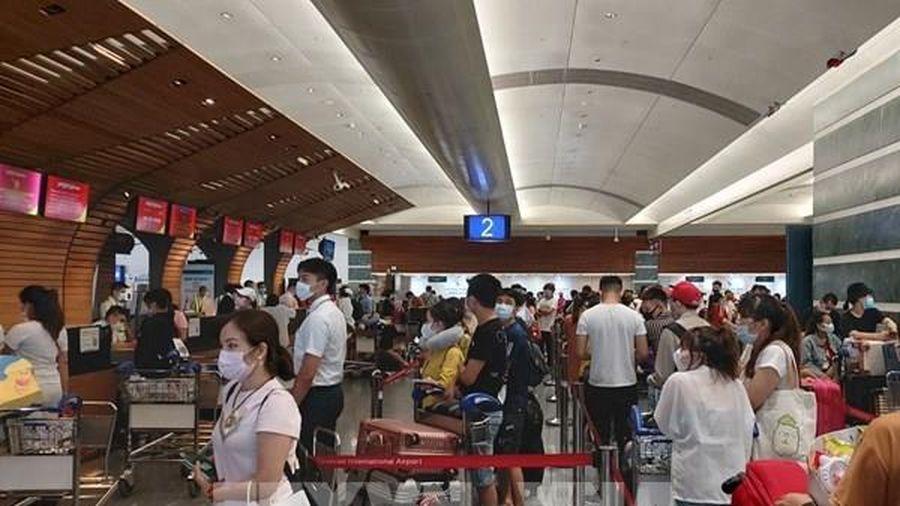 Đưa hơn 240 công dân Việt Nam từ Đài Loan (Trung Quốc) về nước