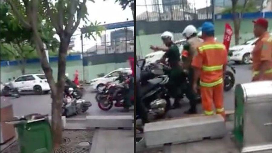 Đoàn xe moto gây tai nạn rồi bỏ chạy vi phạm những quy định nào?