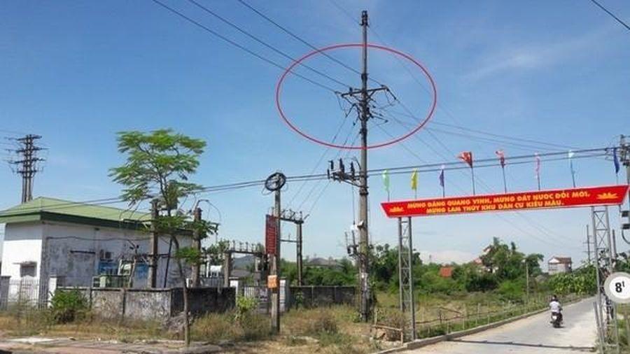 Hà Tĩnh: Kỉ luật 8 người liên quan vụ 1 công nhân điện lực bị tai nạn lao động