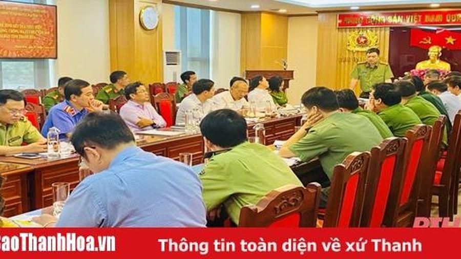 Ủy ban Quốc gia phòng, chống AIDS và phòng, chống tệ nạn ma túy, mại dâm làm việc tại Thanh Hóa