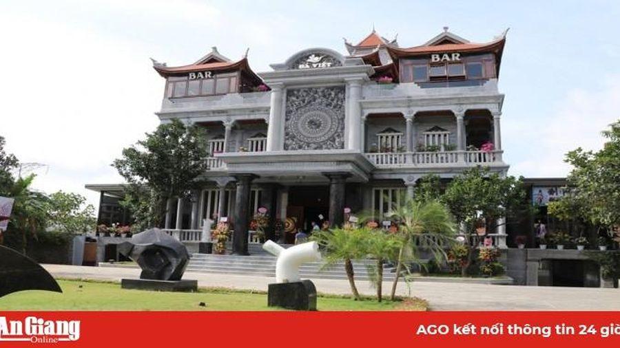 Đặc sắc biệt thự xây dựng bằng đá tại Ninh Bình