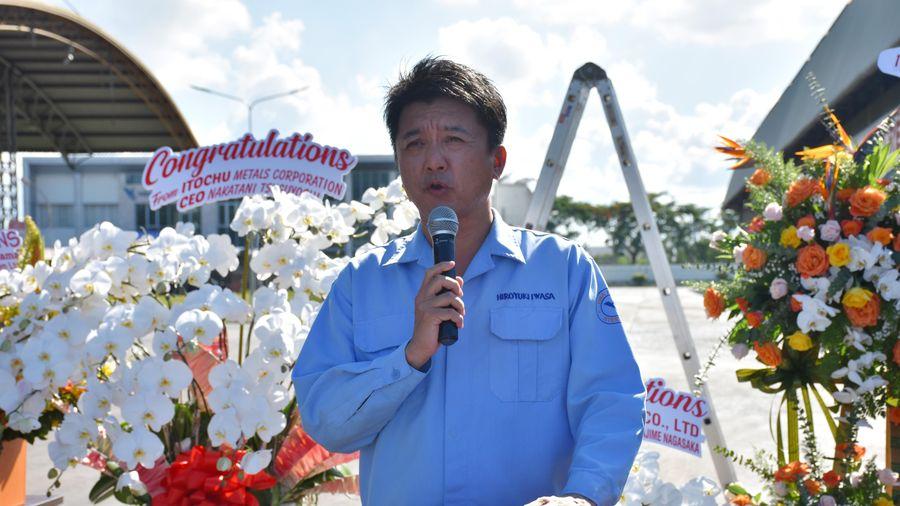 Công ty TNHH Thép Vina Kyoei cán mốc sản xuất đạt 10 triệu tấn