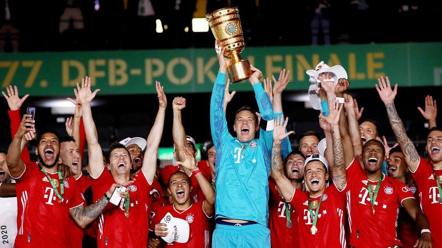 Bayern tiến gần cú 'ăn ba' vĩ đại