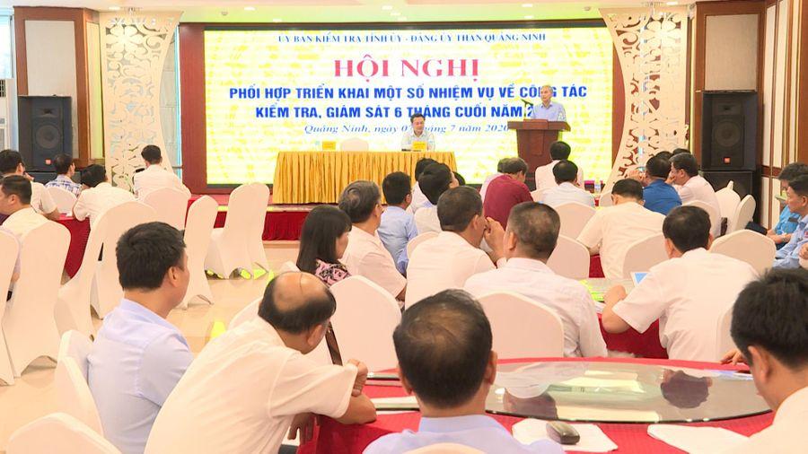 Hội nghị phối hợp Ủy ban Kiểm tra Tỉnh ủy và Đảng ủy Than Quảng Ninh