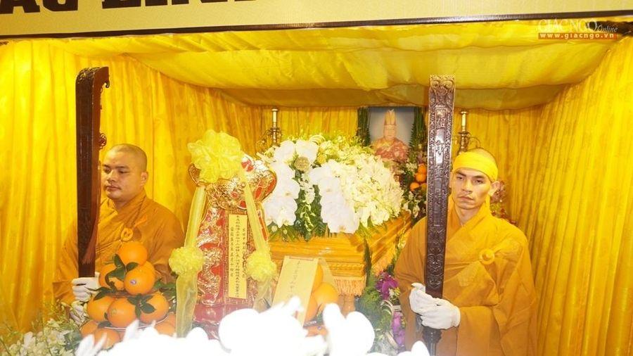BTS Phật giáo TP.HCM viếng tang HT.Thích Minh Nghĩa