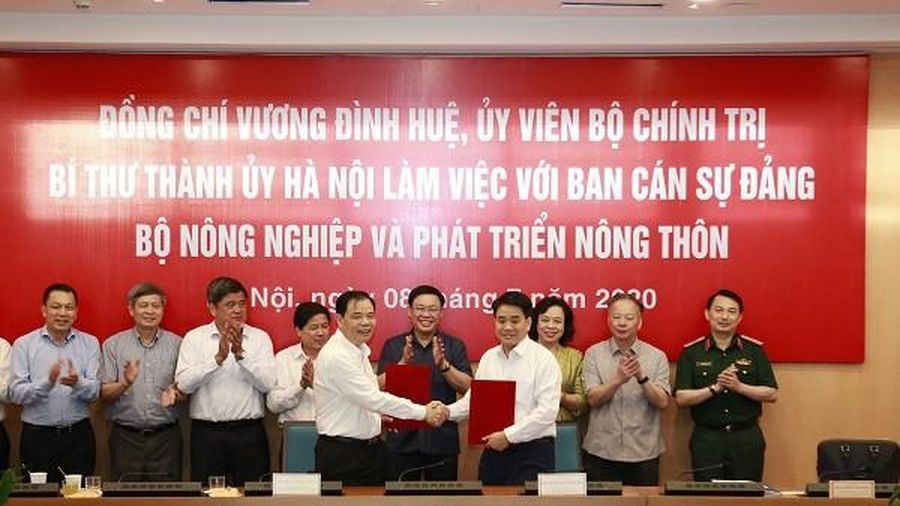 Bộ NN&PTNT sẽ cử các nhà khoa học giỏi nhất cùng Hà Nội rà soát quy hoạch thoát lũ sông Hồng