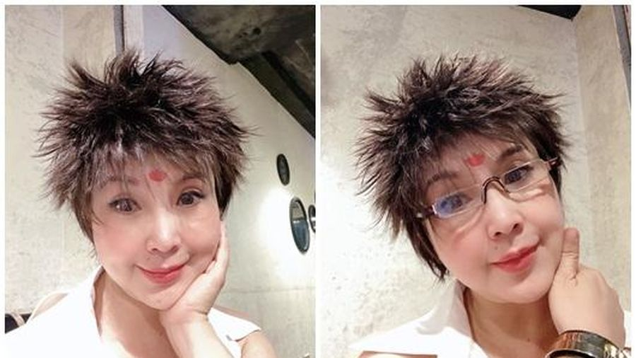 'Sốc toàn tập' trước kiểu tóc cắt ngắn, dựng ngược như đàn ông của NSND Lan Hương