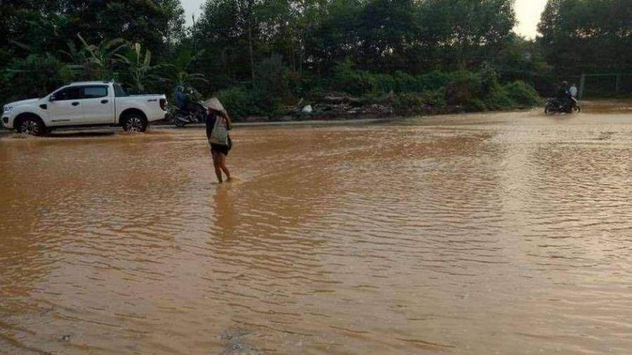 Vỡ đường ống nước sạch Sông Đà lần thứ 2 trong năm
