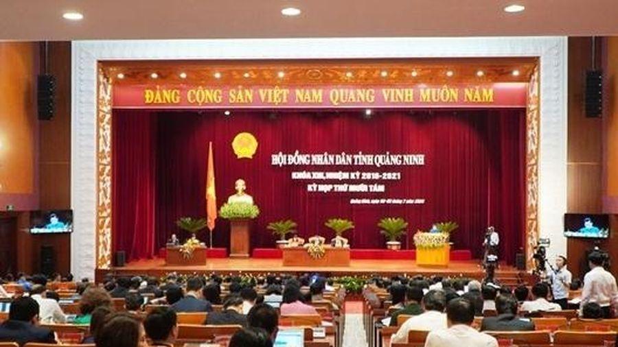 Quảng Ninh: Dự kiến thông qua 21 nghị quyết tại Kỳ họp thứ 18, HĐND tỉnh khóa XIII