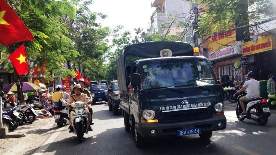 Ngô Quyền (Hải Phòng): Ra quân đảm bảo trật tự an toàn giao thông, trật tự đường hè, vệ sinh môi trường đô thị