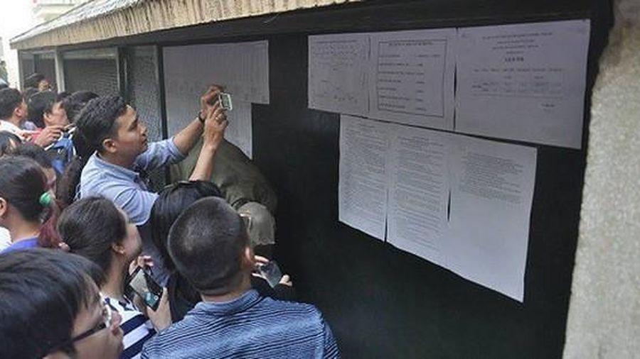Trường có tỷ lệ 'chọi' cao nhất Hà Nội công bố điểm trúng tuyển