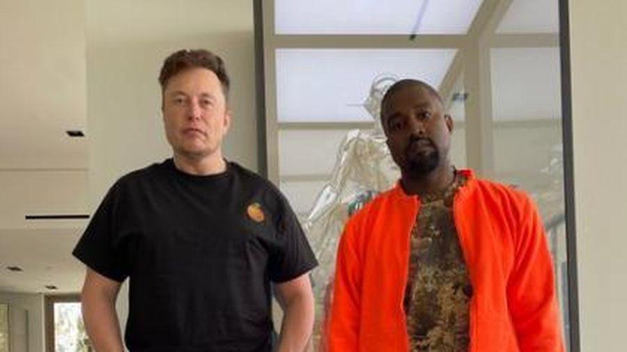 Elon Musk là 1 trong 2 cố vấn duy nhất của Kanye West trong cuộc tranh cử Tổng thống Mỹ sắp tới
