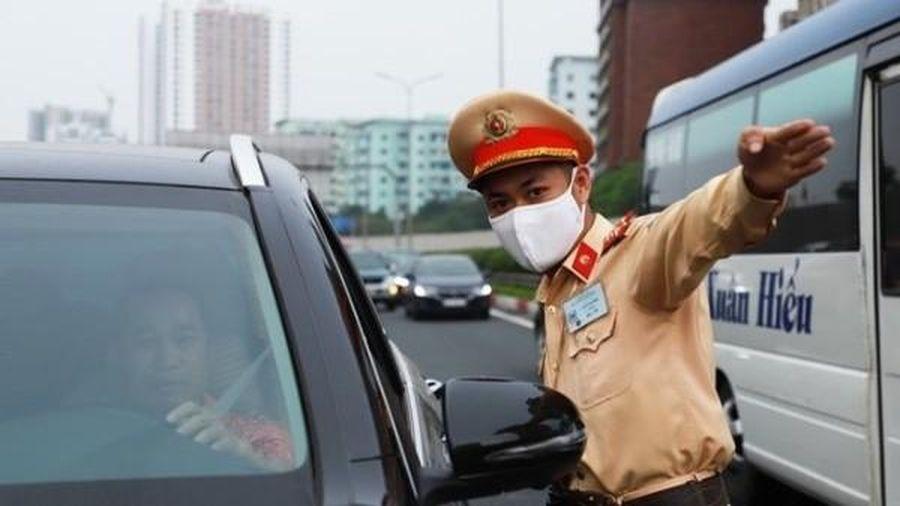 Công khai kế hoạch tuần tra, kiểm soát của Cảnh sát giao thông