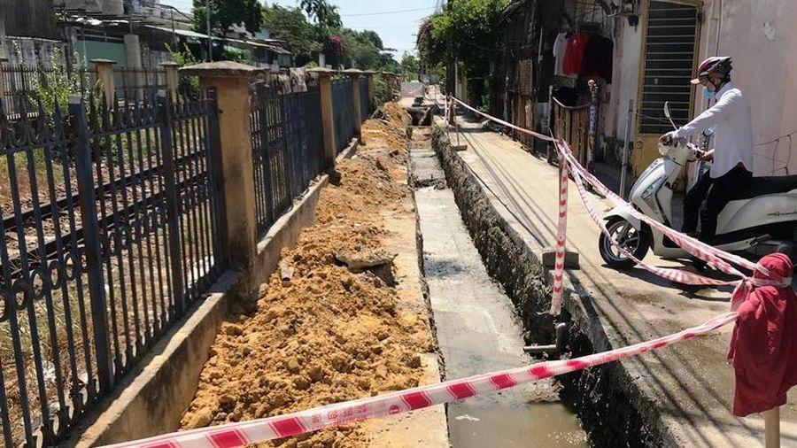 UBND quận Liên Chiểu xây dựng không phép xâm phạm đường sắt