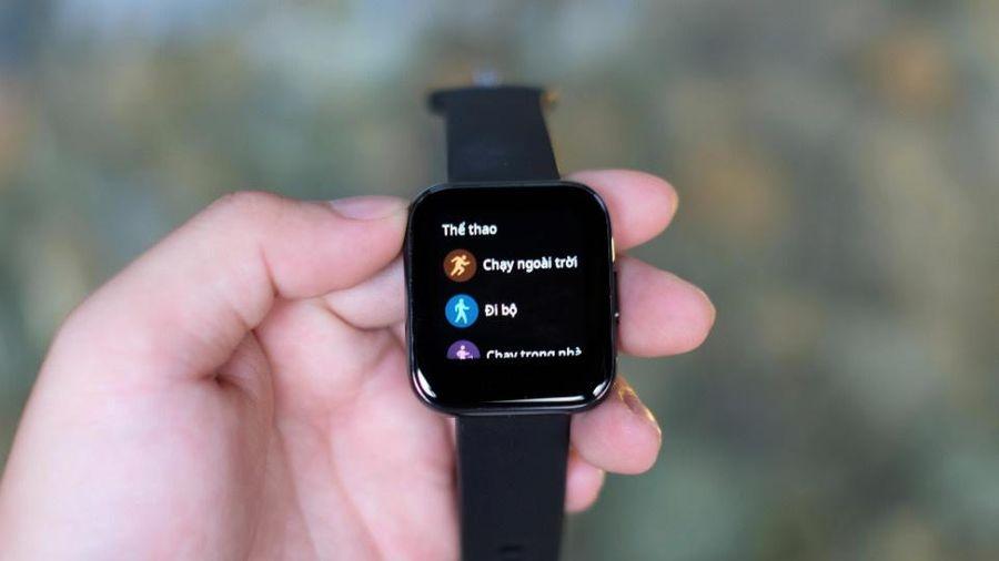 Realme ra đồng hồ giống Apple Watch giá 2 triệu đồng ở VN