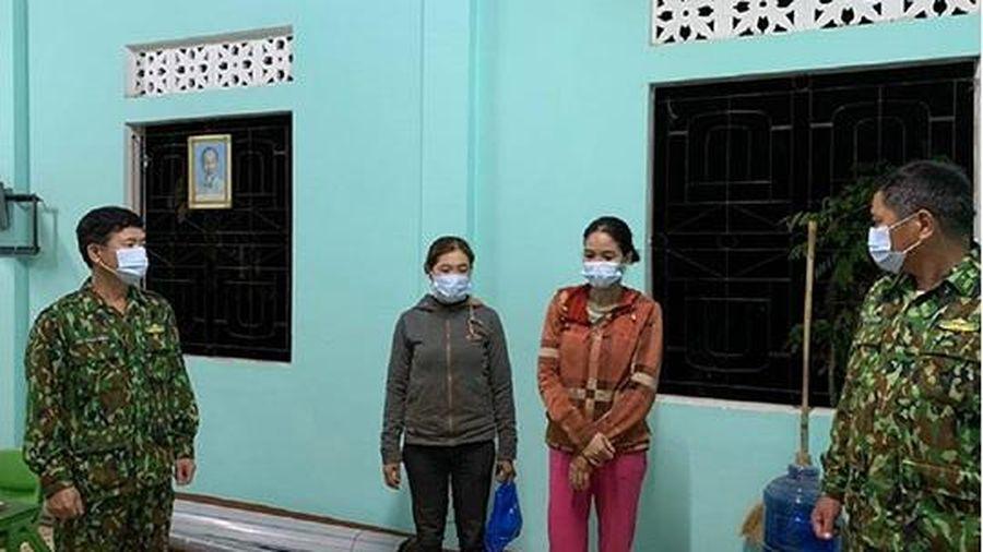 Quảng Trị: 2 phụ nữ nhập cảnh trái phép, trốn cách ly Covid-19