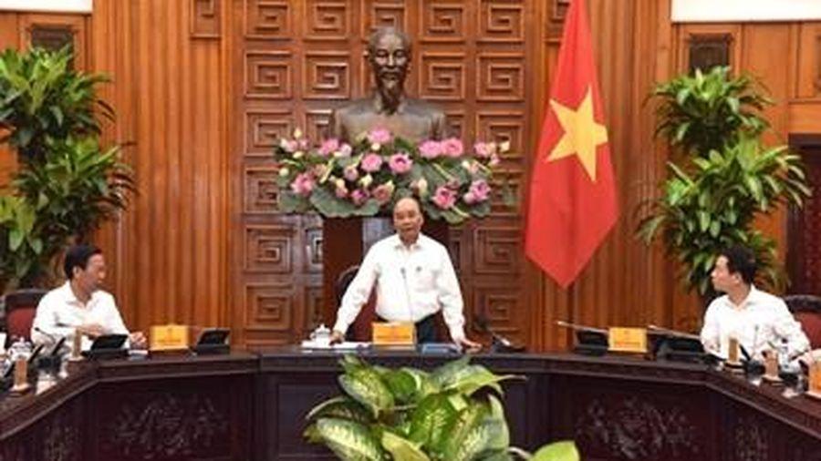 Thủ tướng làm việc với lãnh đạo tỉnh Bến Tre