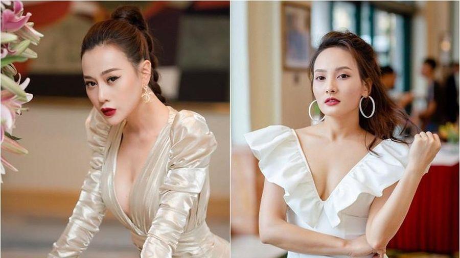 Hai mỹ nhân phim Việt Bảo Thanh, Phương Oanh cùng tạm ngưng diễn xuất