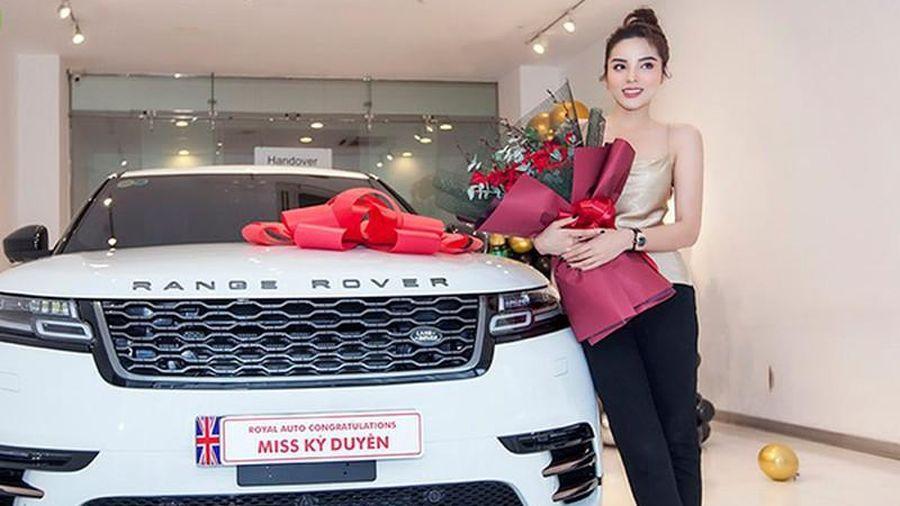 Hoa hậu Kỳ Duyên tậu Range Rover Velar hơn 5 tỷ đồng