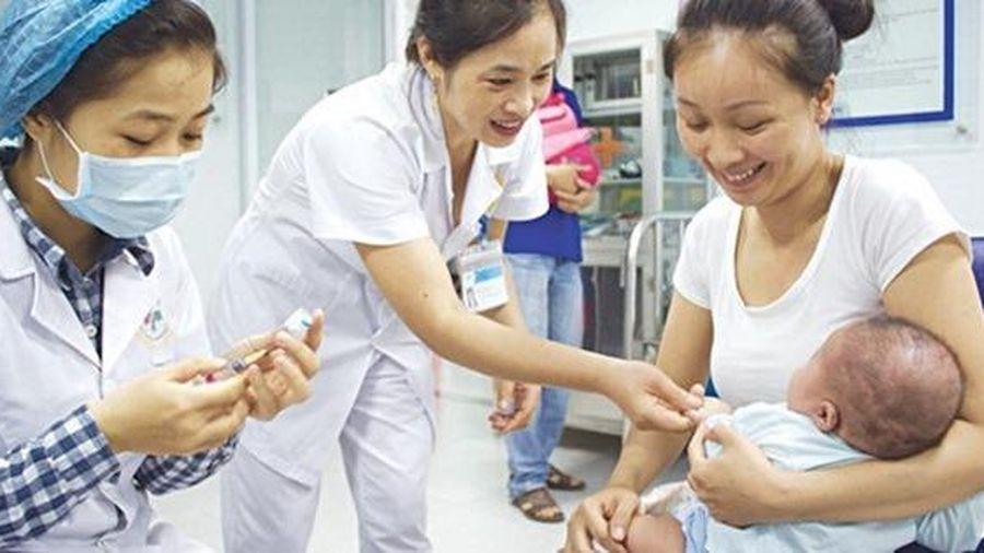 TP.HCM: Tỷ lệ tiêm chủng bạch hầu bị chậm 15% so với tiến độ