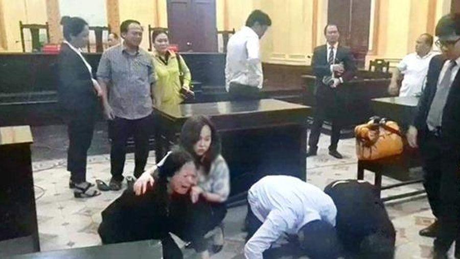 Vụ vợ Bị đơn định nhảy lầu tự tử ở TPHCM: Nguyên đơn có quan hệ với tòa án?