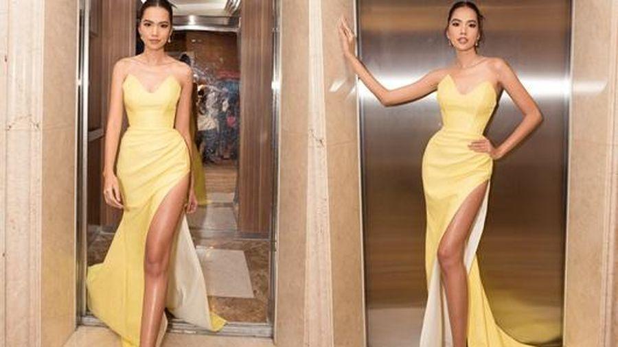 Top 10 Hoa hậu Hoàn vũ Việt Nam khoe chân dài mướt mắt