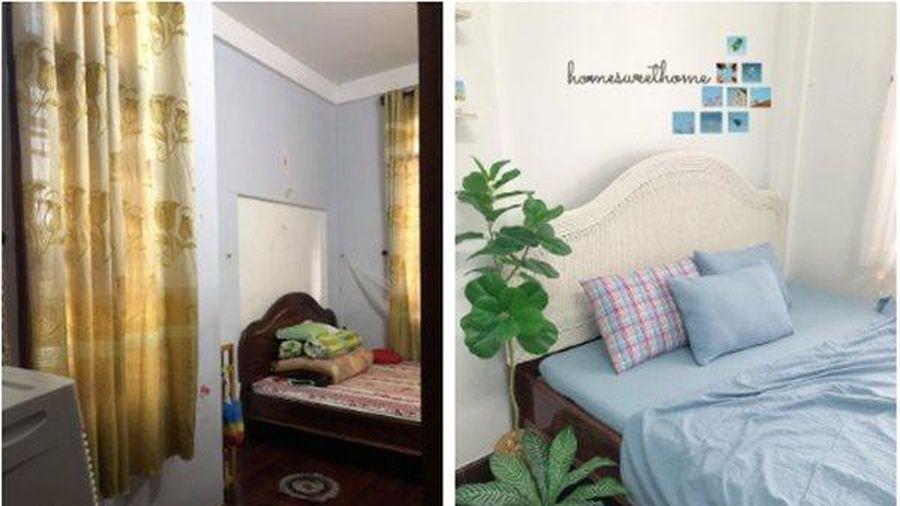 'Phớt lờ' áp lực từ phụ huynh, cô gái 'hô biến' phòng ngủ thành nơi có thể sống ảo ở mỗi góc