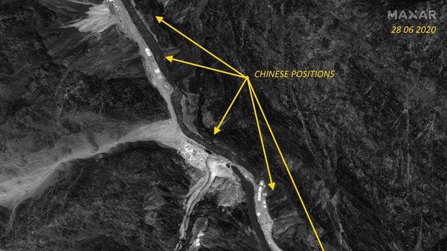 Ảnh vệ tinh: Trung Quốc lùi xa 2km khỏi khu vực tranh chấp với Ấn Độ