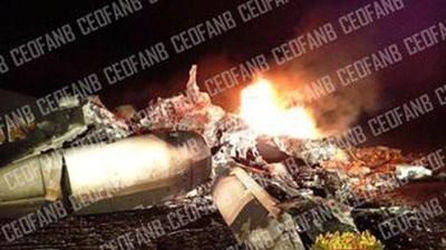Không quân Venezuela bắn rơi một máy bay mang số hiệu Mỹ