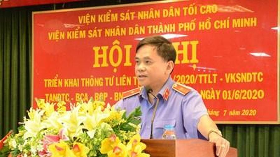 VKSND TP HCM tổ chức hội nghị về quản lý, giải quyết các vụ án, vụ việc tạm đình chỉ